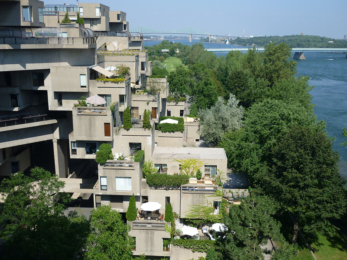 Habitat 67 Montreal 39 S Prefabricated City By Moshe Safdie
