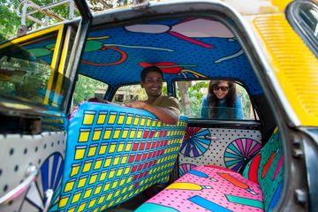 Mumbai Taxi Fabric Project - 01