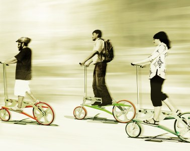 Walkabike - A radical new bicycle for the urban commuter - 01