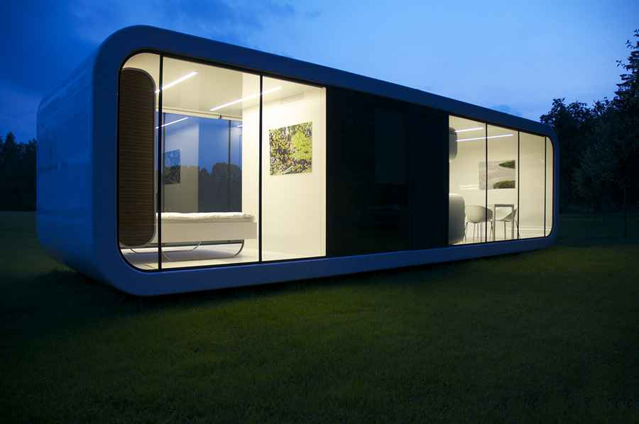 Coodo Haus Coodo Modular Units: Prefabricated Residence Design - E