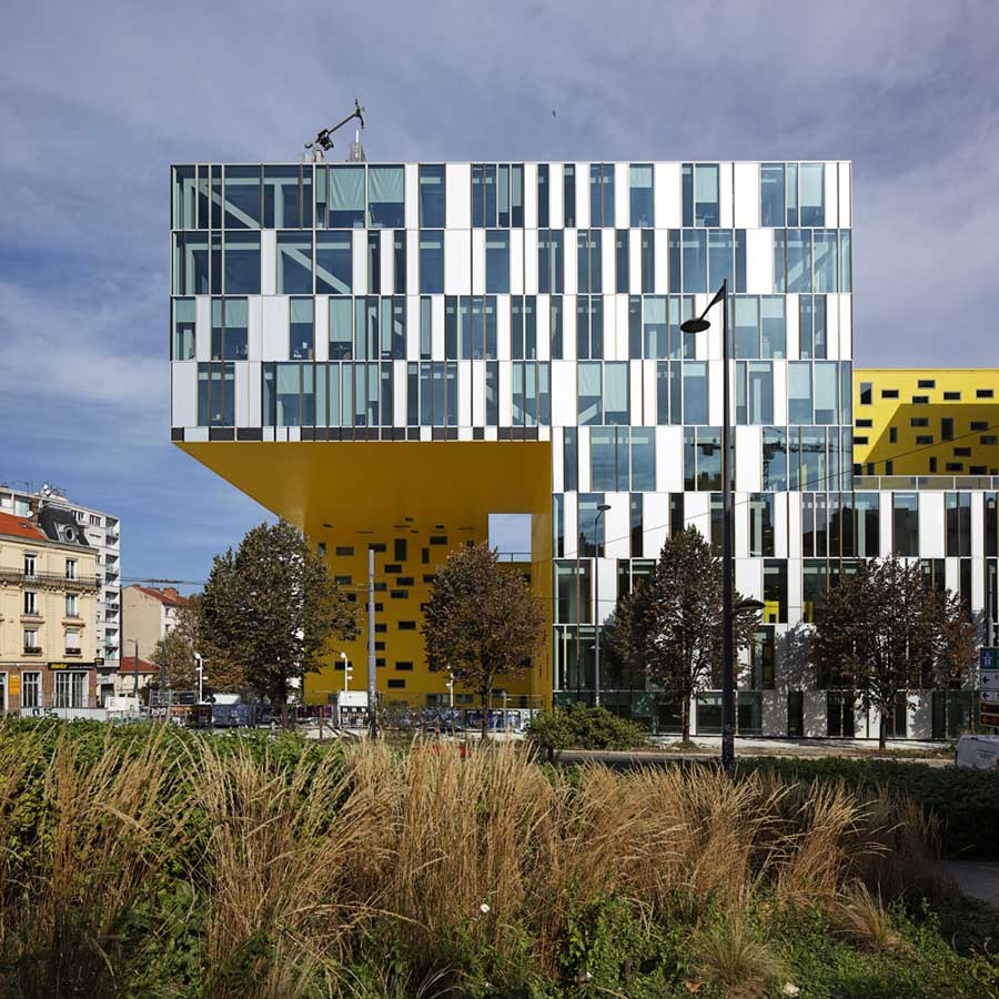 Ligne Roset Saint-etienne Office Building France - E-architect