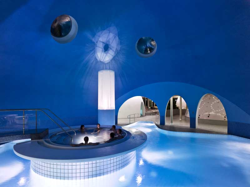 Design In Bad Bad Aibling Spa, Germany: Therme Bad Aibling - E-architect