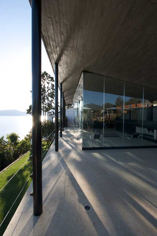 Structural Design Of Roof Garden Casa Negra, Valle De Bravo Home - Mexican House - E-architect