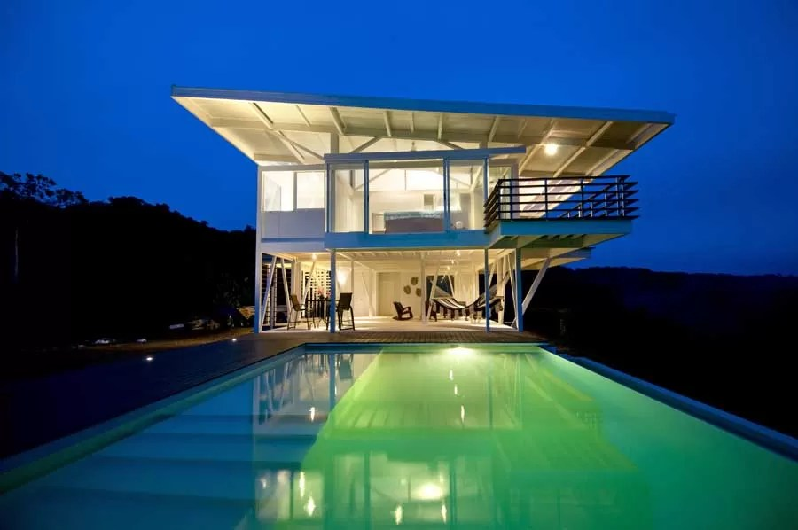 Maison Contener Costa Rican Home: Iseami House - E-architect
