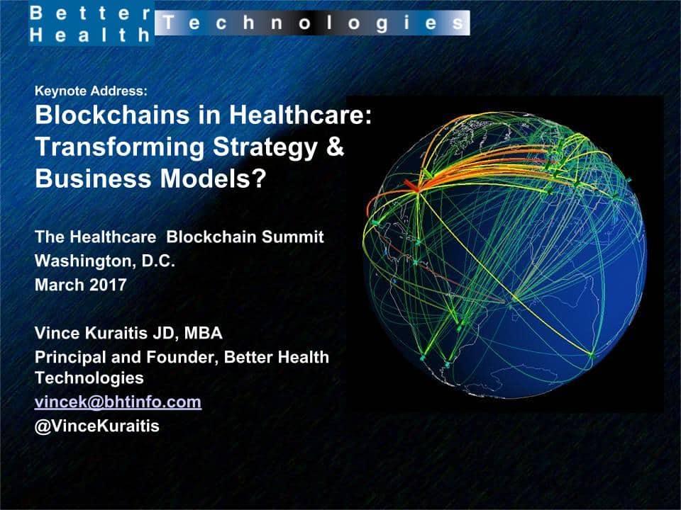 Presentation Slides Strategy  Business Models in Healthcare