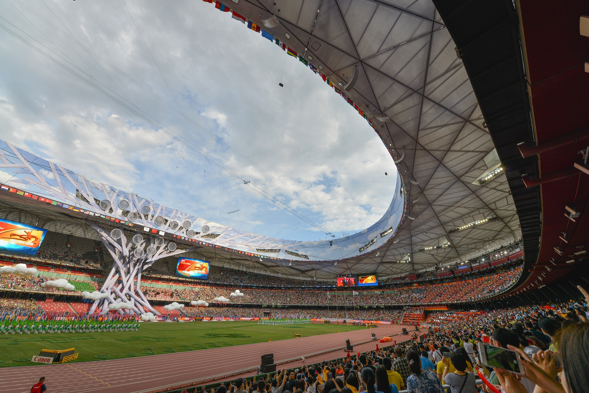 Enlace Gsm Libre Connect 680000 Fans In Iaaf World Championships Beijing 2015