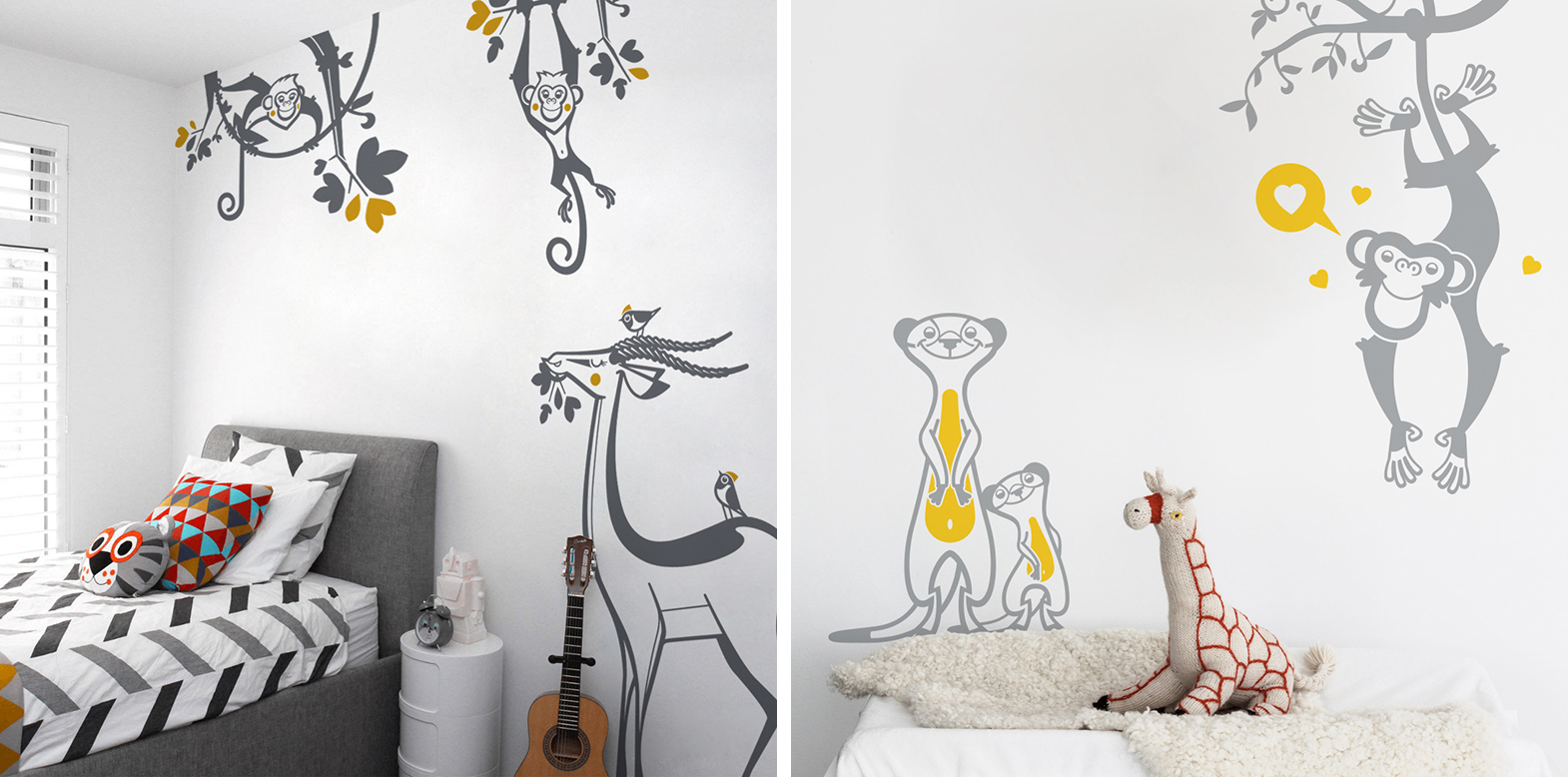 Sticker Chambre Enfant E Glue Blog Latest Trends In Kids Room Decor