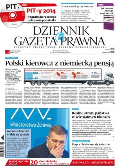 e-Kiosk.pl - Dziennik Gazeta Prawna 07.01.2015 (3)
