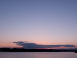 日の入り多摩湖 013