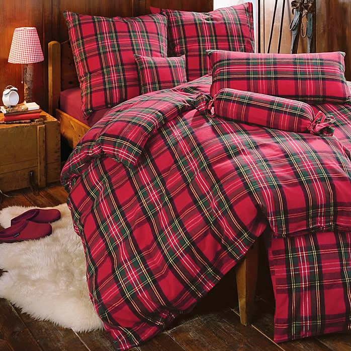 Bettwäsche Flanell Povlečení - Weekend - Scott - Flanel | Www.clarabedding.com
