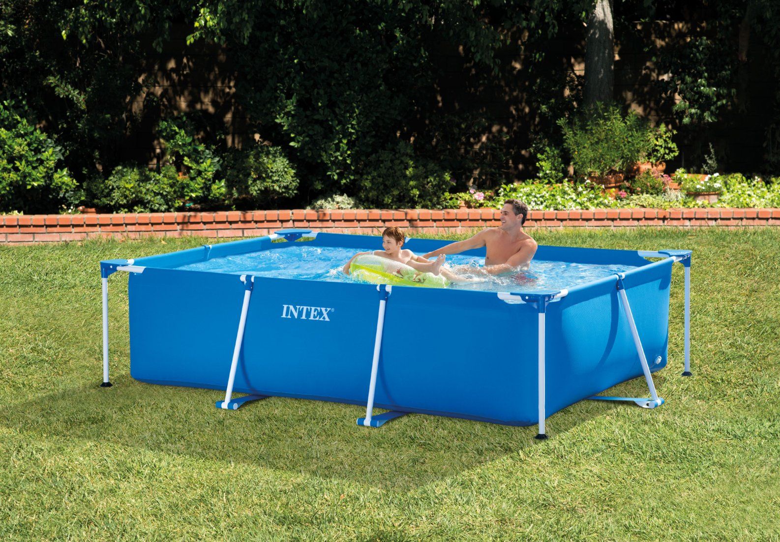 Limpiafondos Para Piscinas Desmontables Intex Piscina Estructural Rectangular Intex 28272 3x2x0 75m