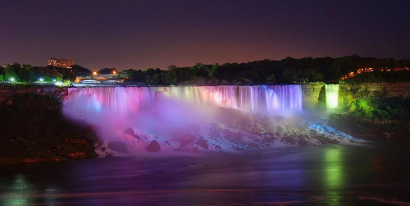 Niagara Falls At Night Wallpaper Chutes Du Niagara Photos Vacances Arts Et Voyages