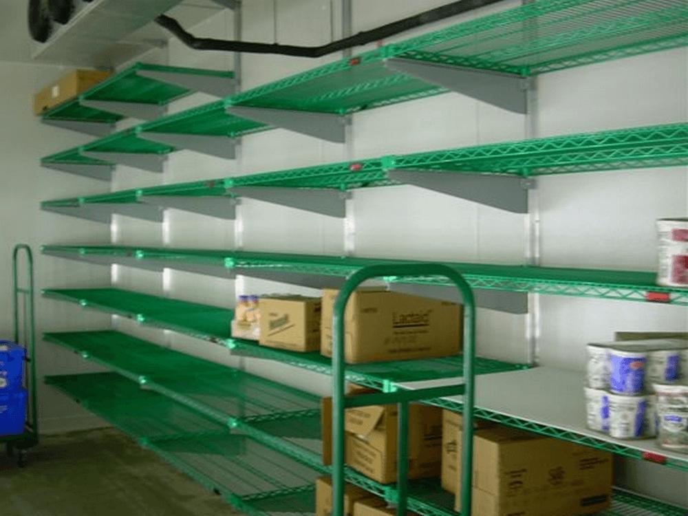 Metal Shelves By E Z Shelving Systems Inc