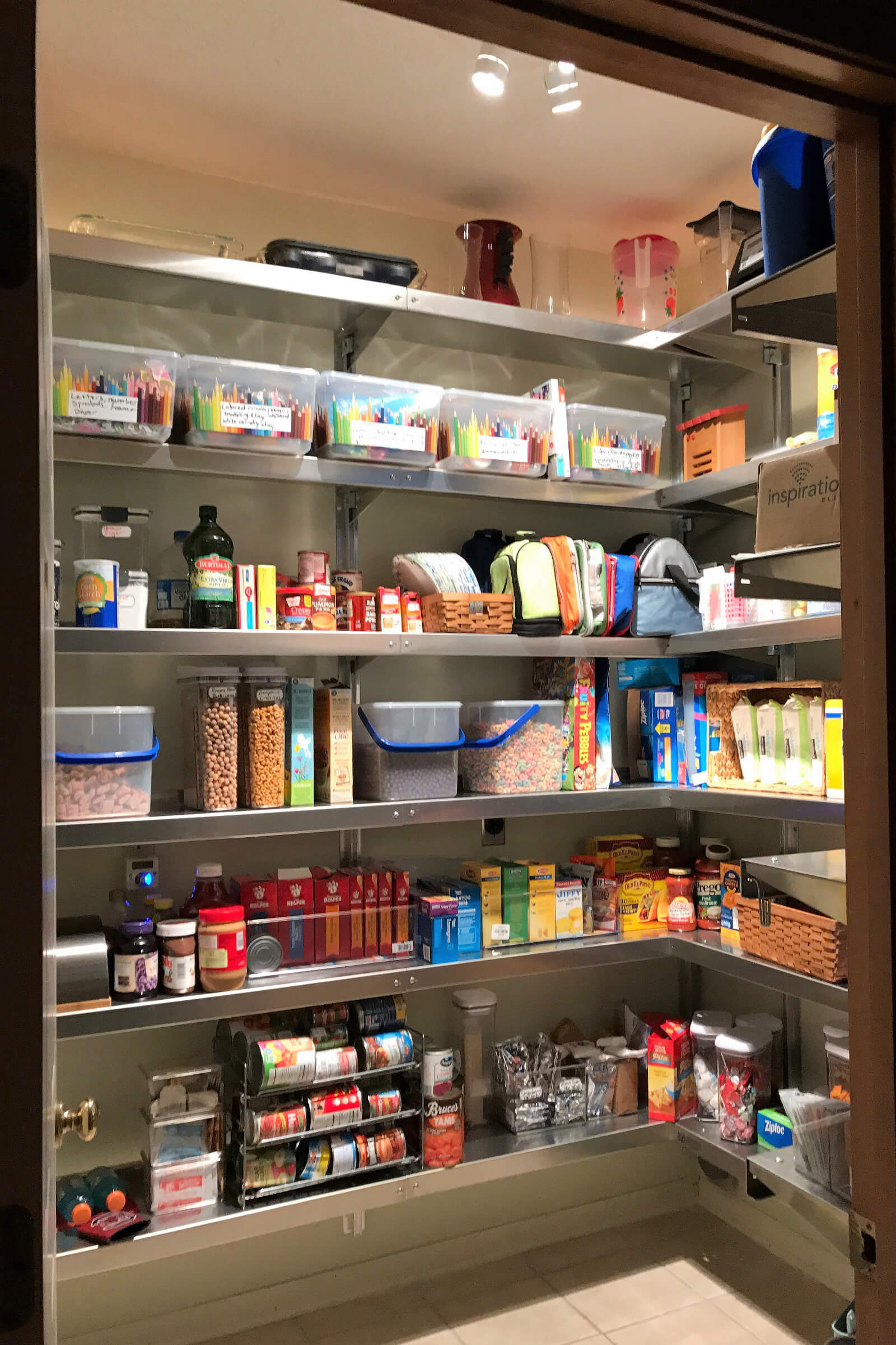Pantry Shelves Pantry Shelving By E Z Shelving Systems Inc
