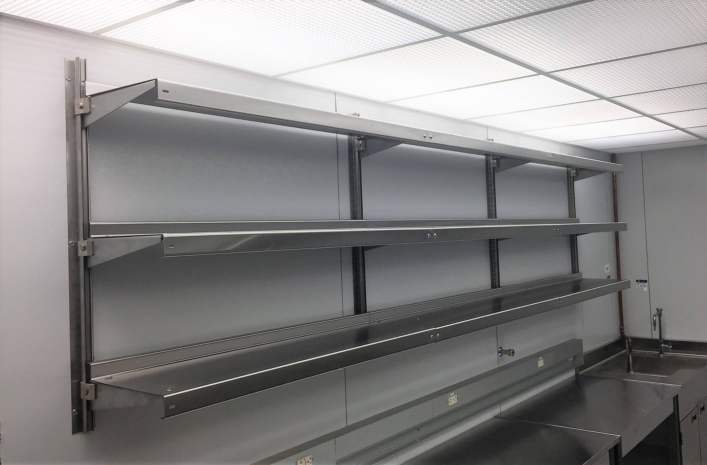 Metal Shelving Laboratory Shelving Shelving Systems By E Z Shelving Systems Inc
