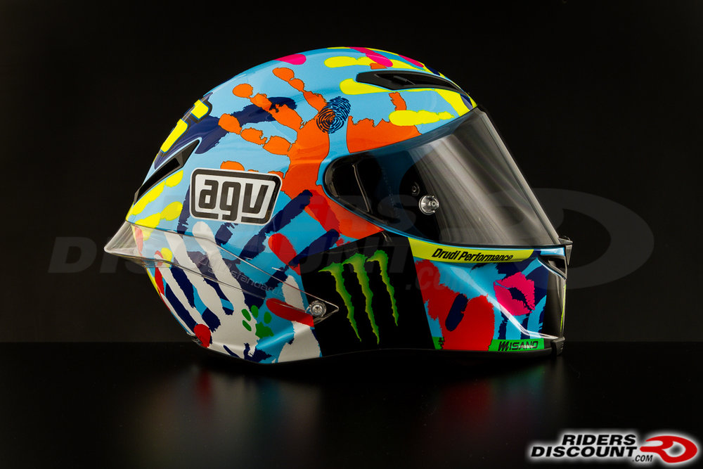 Full Hd Motorcycle Wallpaper 999 95 Agv Limited Edition Valentino Rossi Corsa Misano