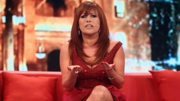 Magaly Medina regresó a la televisión por Latina.
