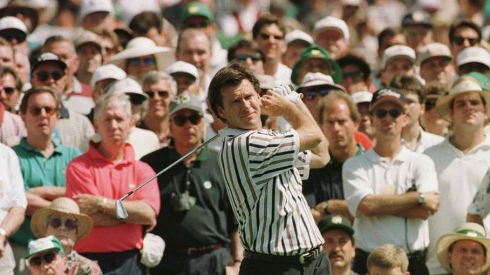 Faldo's closing 67 piled the pressure on the Australian