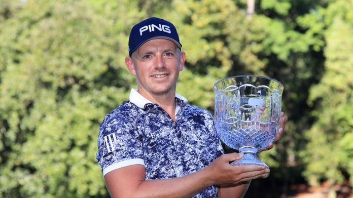 Matt Wallace won the Par 3 Contest after beating Sandy Lyle at the third extra hole
