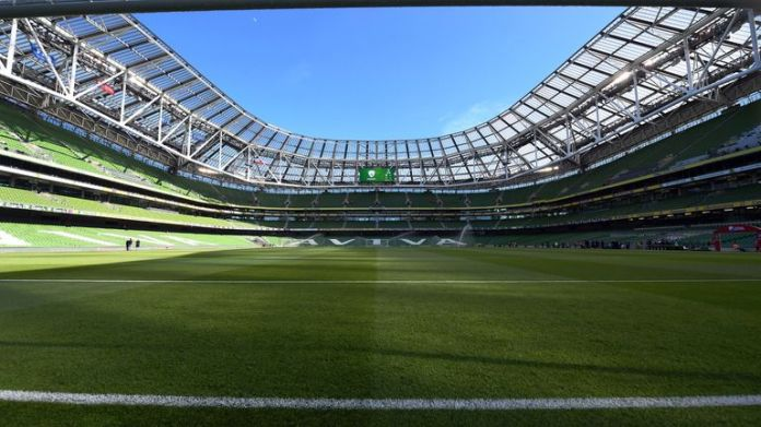 The Aviva Stadium in Dublin will host two of Ireland's Six Nations matches next year