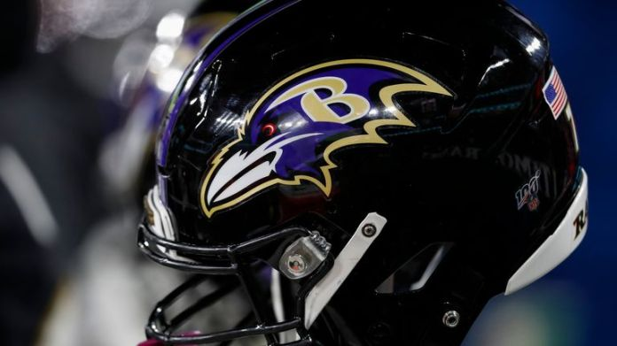 Baltimore Ravens have had a player test positive for Covid-19 ahead of Sunday night matchup with New England Patriots