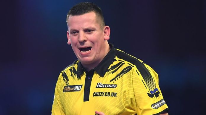 Dave Chisnall secured his spot with a 5-4 win over Brendan Dolan