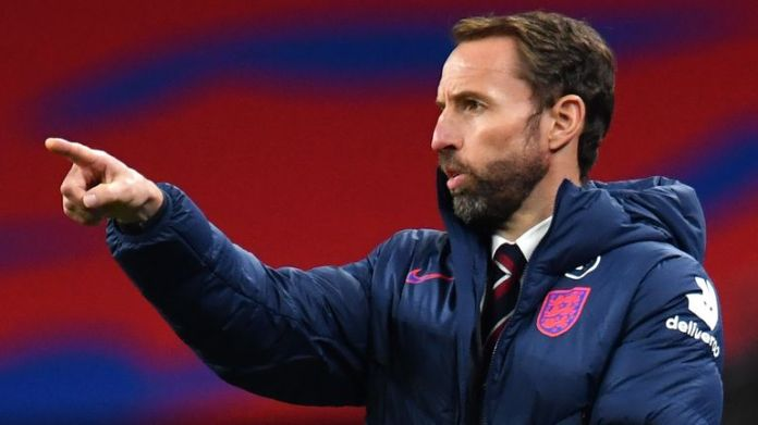 England manager Gareth Southgate during the friendly win over Wales