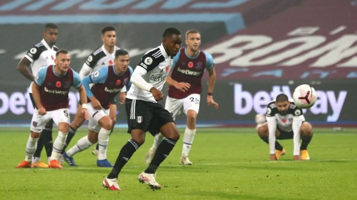 Ademola Lookman misses a Panenka penalty in the last minute against West Ham