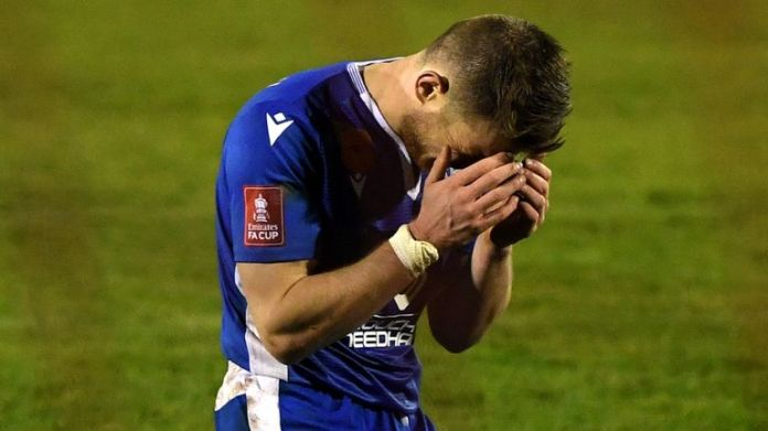 Bishop's Stortford lost on penalties in their FA Cup first round tie