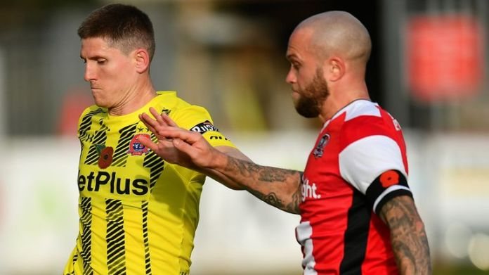 Exeter beat AFC Fylde in their encounter