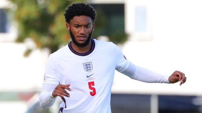 England defender Joe Gomez