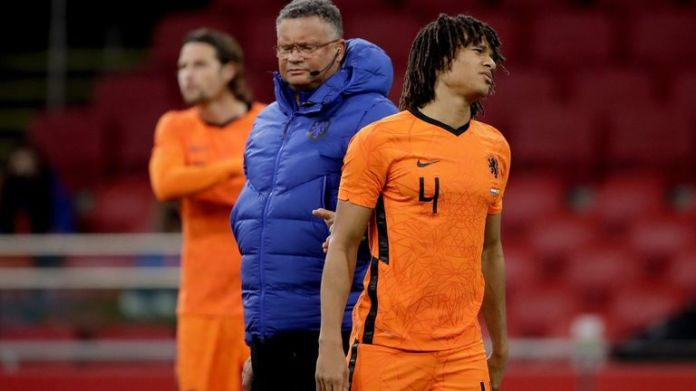 Nathan Ake had to go off after picking up an injury during Wednesday night's friendly