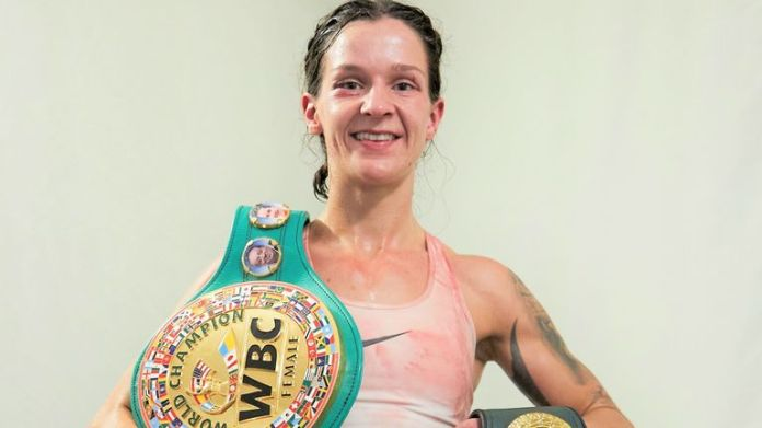 Terri Harper returns to action against Katharina Thanderz this weekend