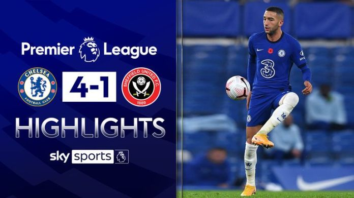 Chelsea vs Sheffield United highlights