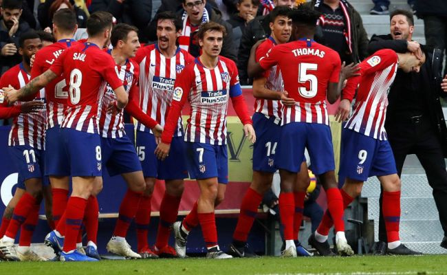 Champions League Atletico Madrid Atletico Madrid Are