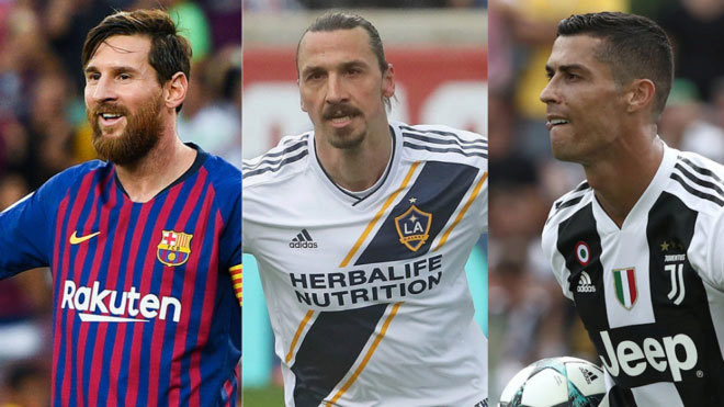 Football Barros Schelotto Ibrahimovic is at the level of Messi and