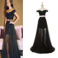 Sexy Prom Dress Celebrity Dresses Off Shoulder Prom Dress ...