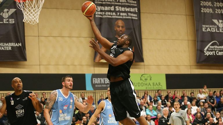 BBL: Darius Defoe hits winning shot as Newcastle Eagles edged out Leicester Riders | Basketball ...