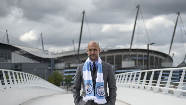 Jesus has chosen Manchester City in order to work with Pep Guardiola