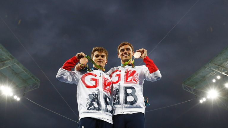 Tom Daley And Daniel Goodfellow Claim Bronze In 2016