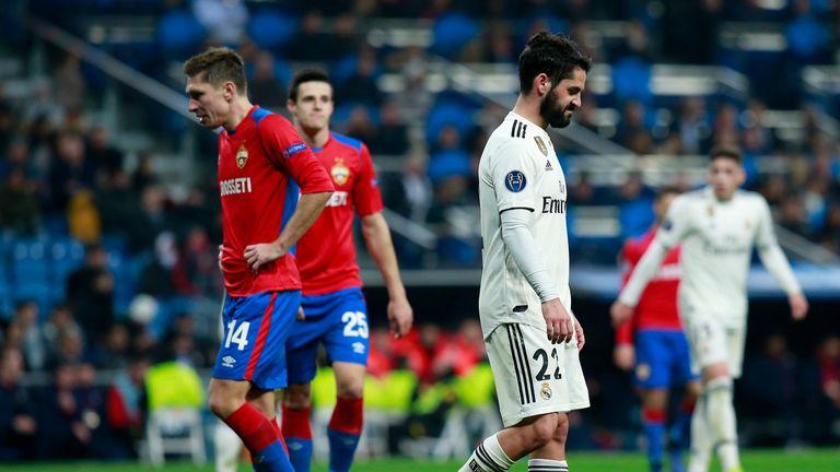 Match Report R Madrid 0 3 Cska Mosc 12 Dec 2018