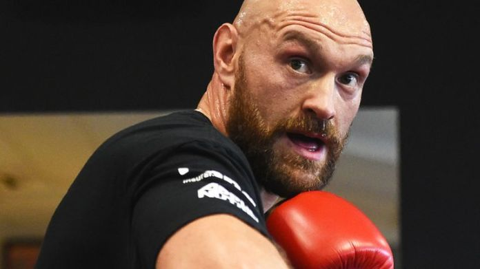WBC champion Tyson Fury is set to return in December
