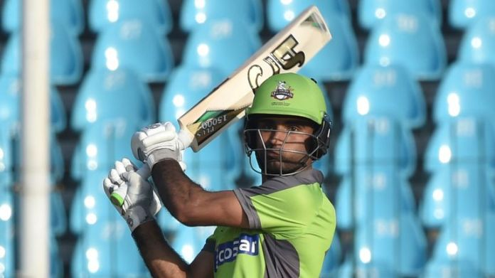 Lahore Qalandar's Fakhar Zaman attacks against Multan Sultans