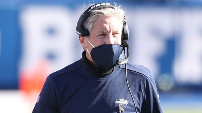 Pete Carroll's Seahawks have stumped to three defeats in the past four weeks