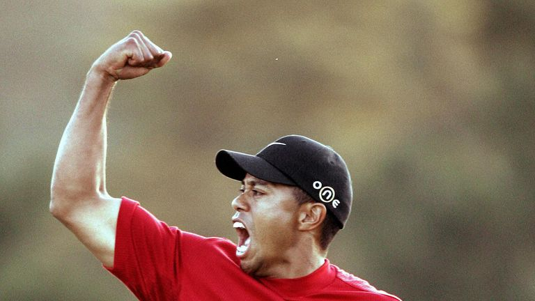 tiger woods schedule golf