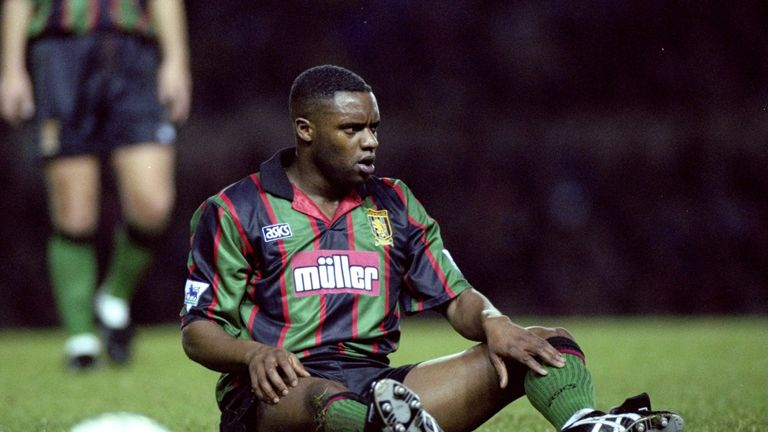 Dalian Atkinson played for a number of clubs including Aston Villa, Ipswich and Manchester City