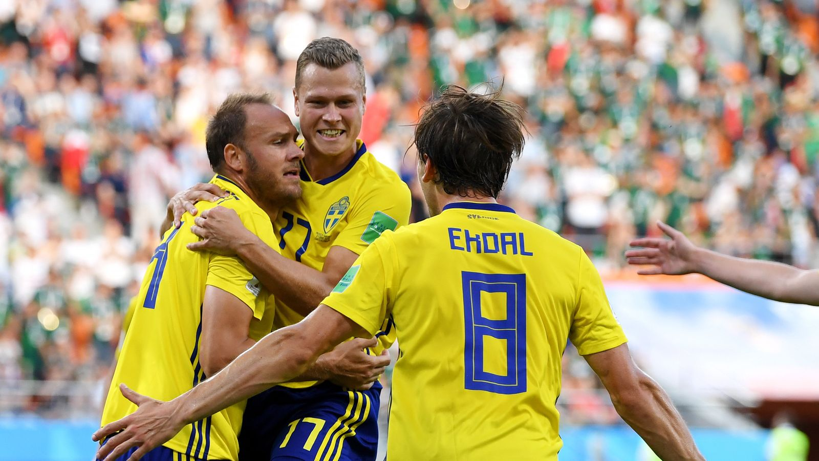 Sedia Bar Sport Mexico 3 Sweden Match Report Highlights