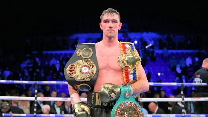 Callum Smith is the WBA super-middleweight champion
