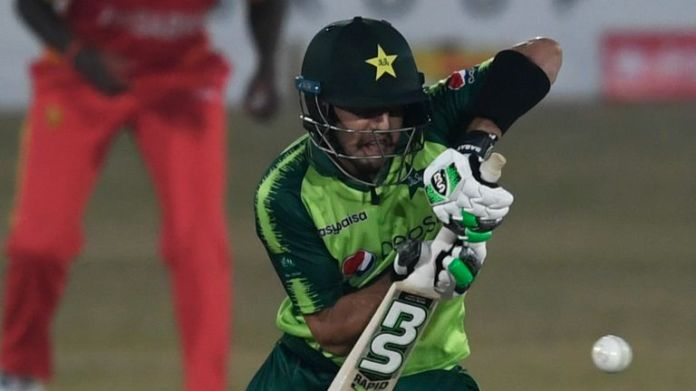 Haider Ali hit an unbeaten 66 to seal Pakistan's series victory against Zimbabwe