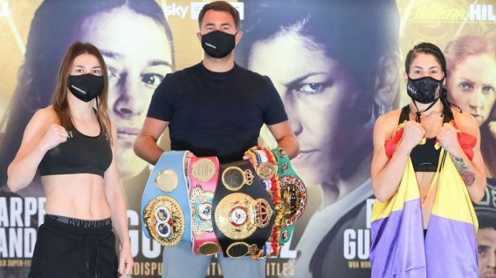 Katie Taylor defends her world titles against Miriam Gutierrez